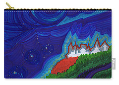 Castle On The Cliff By Jrr Carry-all Pouch by First Star Art