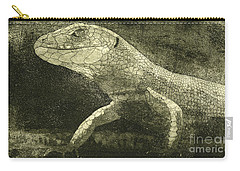 casual meeting Reptile Viviparous Lizard  Lacerta vivipara Carry-all Pouch