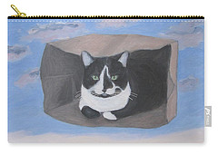 Cat In A Bag Carry-all Pouch