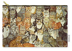 Cat Spread Carry-all Pouch