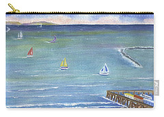 Catalina To Redondo Carry-all Pouch