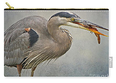 Catch Of The Day Carry-all Pouch by Heather King