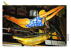 Carry-all Pouch featuring the photograph Catch Of The Day by Kelly Awad