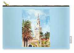 Catedral De Sevilla Carry-all Pouch