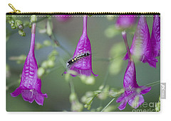 Caterpillar Playground  Carry-all Pouch by Nola Lee Kelsey