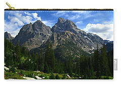 Cathedral Group From The Northwest Carry-all Pouch