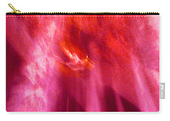 Carry-all Pouch featuring the digital art Cathedral Of Fire And Light by Menega Sabidussi