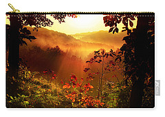Cathedral Of Light Carry-all Pouch by Rob Blair