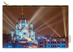 Cathedral Of St Paul Ready For Red Bull Crashed Ice Carry-all Pouch by Paul Freidlund