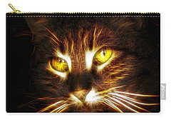 Cat's Eyes - Fractal Carry-all Pouch