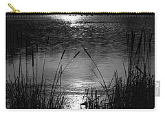 Cattails 3 Carry-all Pouch by Susan  McMenamin