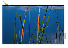 Cattails At Overholster Carry-all Pouch by Doug Long