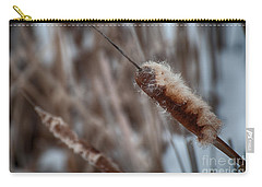 Carry-all Pouch featuring the photograph Cattails by Bianca Nadeau