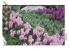 Carry-all Pouch featuring the photograph Catterpillar Large Flower Garden Vegas by Navin Joshi