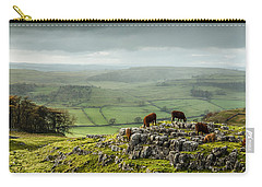 Cattle In The Yorkshire Dales Carry-all Pouch