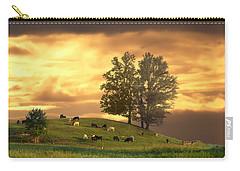 Cattle On A Hill Carry-all Pouch
