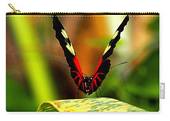 Cattleheart Butterfly  Carry-all Pouch by Amy McDaniel