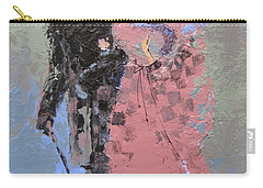 Carry-all Pouch featuring the painting Catwalk by Marina Gnetetsky