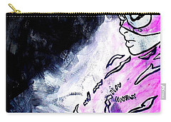 Catwoman Purple Suit Carry-all Pouch