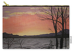 Caucomgomoc Lake Sunset In Maine Carry-all Pouch