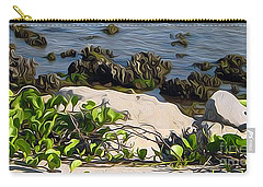Causeway Shore Blues Carry-all Pouch