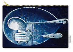 Blue Luster Carry-all Pouch by Don Gradner