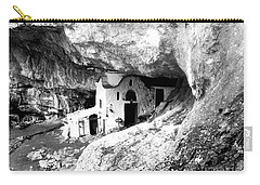 cave church on Mt Olympus Greece Carry-all Pouch by Nina Ficur Feenan