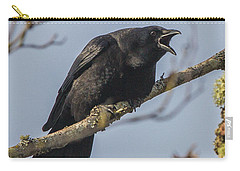 Caw Carry-all Pouch by Charlie Duncan