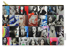 Mosaic - Ccart Mosaic - Series II Carry-all Pouch by Christian Chapman Art