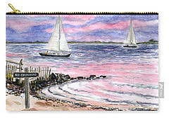 Cedar Beach Pinks Carry-all Pouch