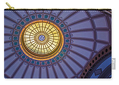 Carry-all Pouch featuring the photograph Ceiling In The Chattanooga Choo Choo Train Depot by Susan  McMenamin