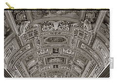 Ceiling Of Hall Of Maps Carry-all Pouch