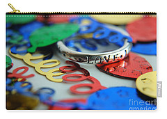 Carry-all Pouch featuring the digital art Celebrate Love by Margie Chapman