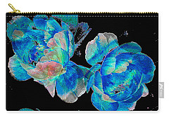 Celestial Blooms Carry-all Pouch by Stephanie Grant