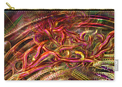 Carry-all Pouch featuring the digital art Cell Dreaming 9 by Russell Kightley