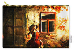 Cellist By Night Carry-all Pouch