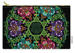 Celtic Fairy Mandala Carry-all Pouch