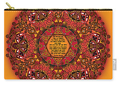 Celtic Fall Fairy Mandala Carry-all Pouch