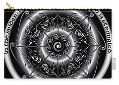Celtic Spider Mandala Carry-all Pouch