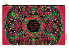 Celtic Summer Fairy Mandala Carry-all Pouch