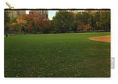 Central Park In Autumn Carry-all Pouch by Dan Sproul