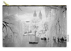 Central Park Lake-infrared Willows Carry-all Pouch