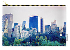 New York In Motion Carry-all Pouch by Shaun Higson