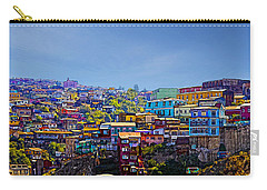 Cerro Artilleria Valparaiso Chile Carry-all Pouch