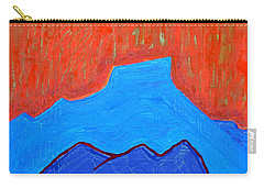 Cerro Pedernal Original Painting Sold Carry-all Pouch