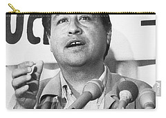 Cesar Chavez Announces Boycott Carry-all Pouch by Underwood Archives