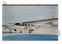 Carry-all Pouch featuring the painting Cessna 208 Caravan by Marilyn  McNish