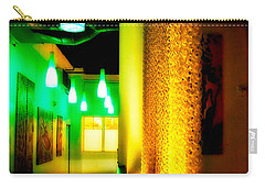 Chain Lighting Carry-all Pouch by Melinda Ledsome