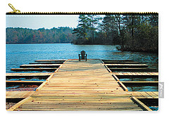 Chair On Dock By Jan Marvin Carry-all Pouch