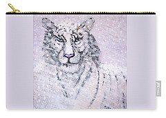 Carry-all Pouch featuring the painting Chairman Of The Board by Phyllis Kaltenbach